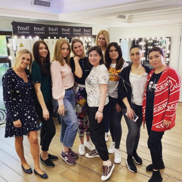Курсы обучения макияжу в группах до 13 человек