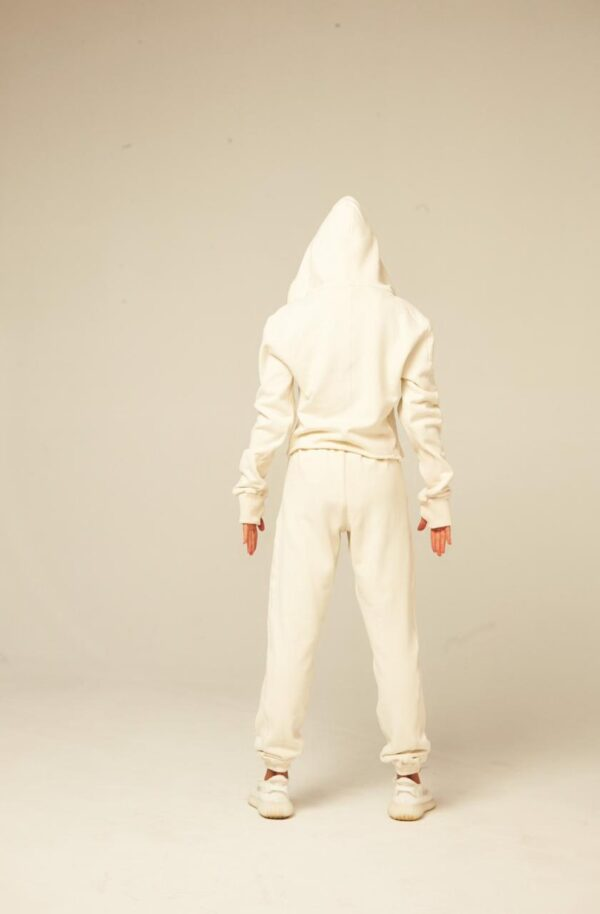 Спортивный костюм Three из трёх позиций на замке белый